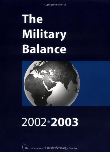 The Military Balance By International Institute for Strategic Studies