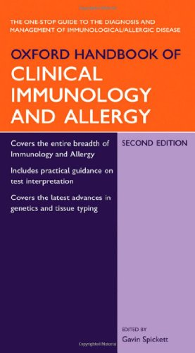 Oxford Handbook of Clinical Immunology and Allergy by Gavin Spickett