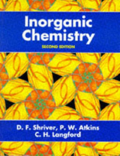 Inorganic Chemistry By D.F. Shriver