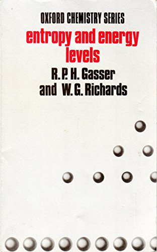 Entropy and Energy Levels By R.P.H. Gasser