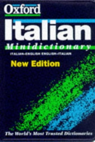 The Oxford Italian Minidictionary By Edited by Joyce Andrews
