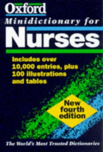 Minidictionary for Nurses By Revised by T.A. McFerran