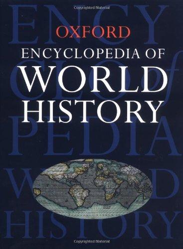Oxford Encyclopedia of World History By Market House Books Ltd