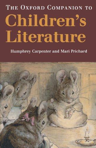 Oxford Companion to Children's Literature By Humphrey Carpenter