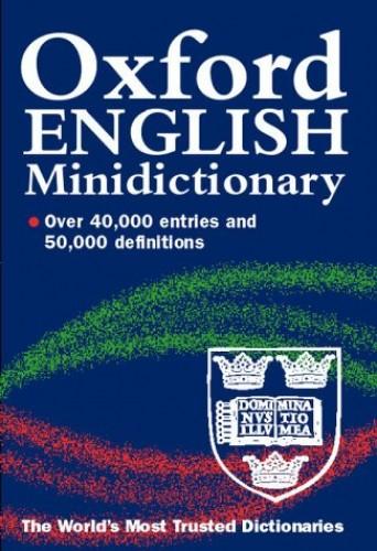 Oxford English Minidictionary By Edited by Joyce Hawkins