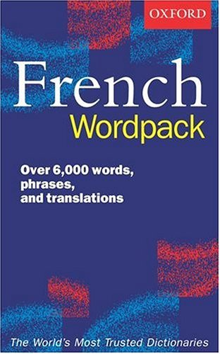 The Oxford French Wordpack By Edited by Valerie Grundy