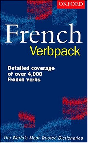 The Oxford French Verbpack By Edited by Valerie Grundy