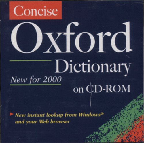 Concise Oxford Dictionary: Single User Windows Version 1.1 By Edited by Judy Pearsall