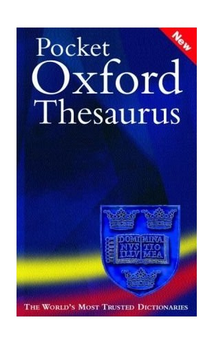 Pocket Oxford Thesaurus By Edited by Maurice Waite
