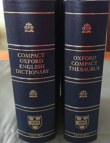 COMPACT OXFORD ENGLISH DICTIONARY OF CURRENT ENGLISH. By Catherine & Sara Hawker (edits). Soanes
