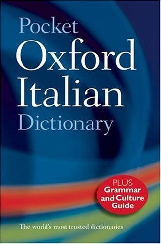 Pocket Oxford Italian Dictionary By Pat Bulhosen