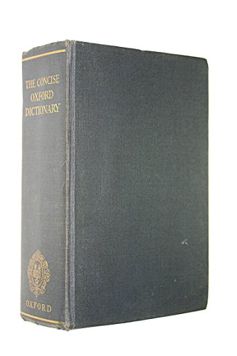 Concise Oxford French-English, English-French Dictionary By A. Chevalley
