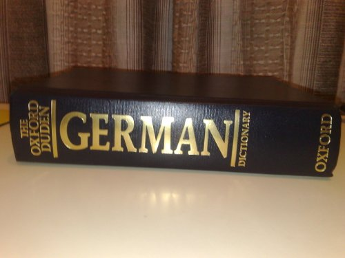 The Oxford-Duden German Dictionary By Edited by J. B. Sykes