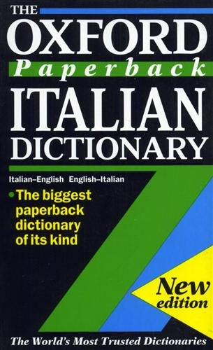 The Oxford Paperback Italian Dictionary By Edited by Joyce Andrews
