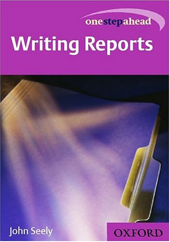 Writing Reports By John Seely