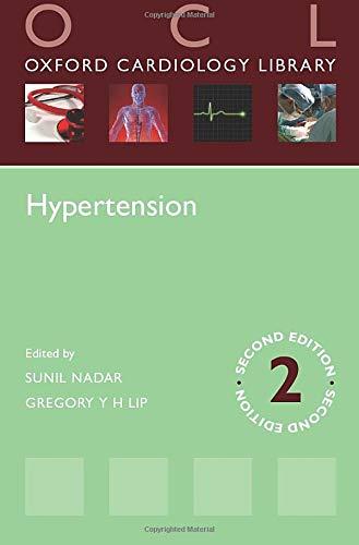 Hypertension (Oxford Cardiology Library) Edited by Sunil Nadar