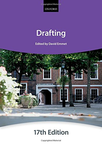 Drafting (Bar Manuals) By The City Law School