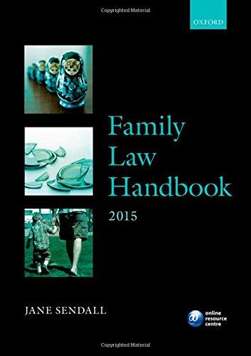 Family Law Handbook 2015 By Jane Sendall