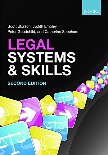 Legal Systems & Skills By Professor Scott Slorach