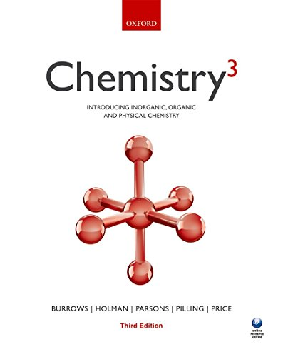 Chemistry(3) By Andrew Burrows (Department of Chemistry, University of Bath)