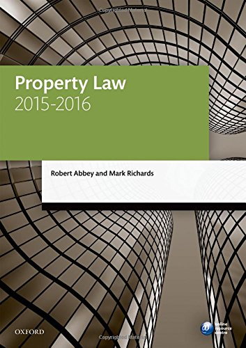 Property-Law-2015-2016-8-e-Legal-Practice-Cours-by-Richards-Mark-0198737688