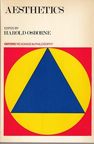 Aesthetics By Edited by Harold Osborne