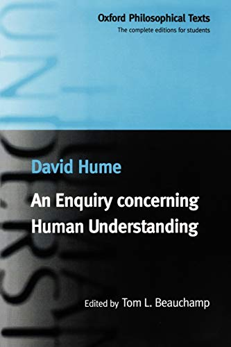 An Enquiry Concerning Human Understanding (Oxford Philosophical Texts) By David Hume