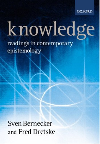 Knowledge By Edited by Sven Bernecker