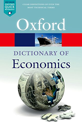 A Dictionary  of Economics By Nigar Hashimzade