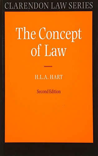 The Concept of Law (Clarendon Law Series), 2nd Ed. By H. L. A. Hart