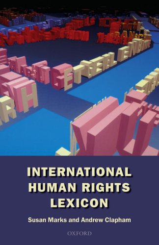 International Human Rights Lexicon By Susan Marks