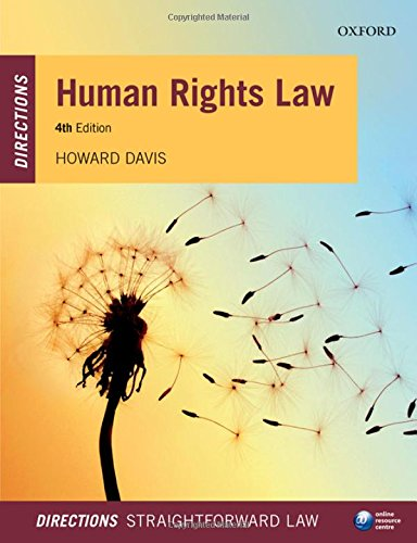 Human Rights Law Directions by Howard Davis (Reader in Public Law, Bournemouth University)