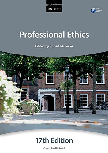 Professional Ethics by The City Law School