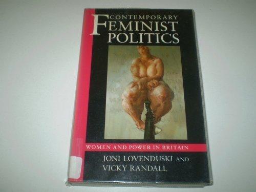 Contemporary Feminist Politics By Joni Lovenduski