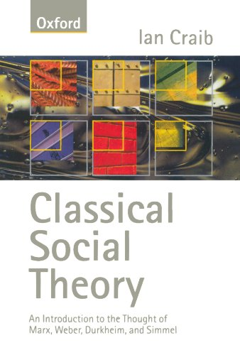 Classical Social Theory By Ian Craib (Reader in Sociology, Reader in Sociology, University of Essex)