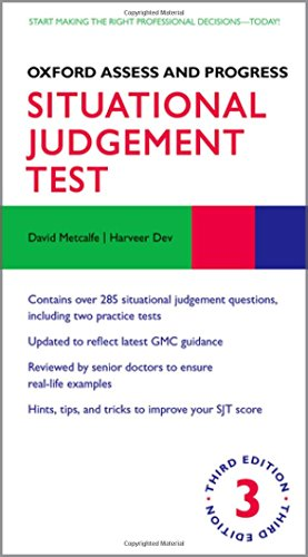 Oxford Assess and Progress: Situational Judgement Test By David Metcalfe (University of Oxford)