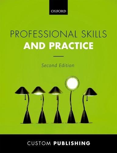 BCU: Professional Skills and Practice By CUSTOM