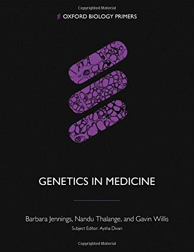Genetics in Medicine By Barbara Jennings (Norwich Medical School)