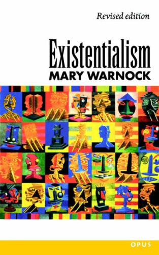 Existentialism by Mary Warnock