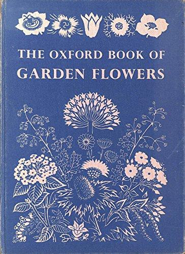 Oxford Book of Garden Flowers By Edward Bertram Anderson