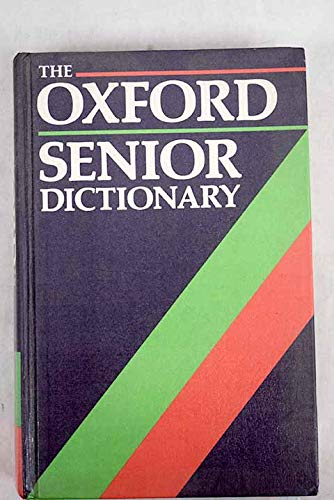 The Oxford Senior Dictionary By Joyce Hawkins