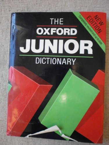 Oxford Junior Dictionary By Edited by Rosemary Sansome