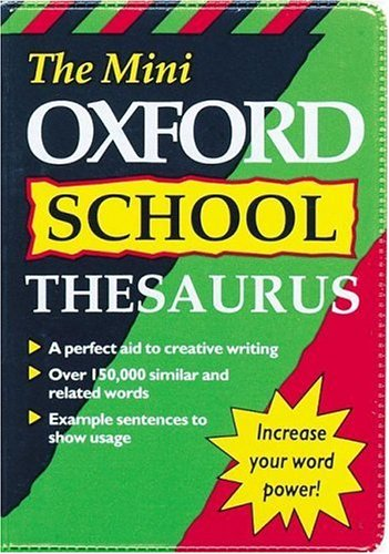 MINI OXFORD SCHOOL THESAURUS