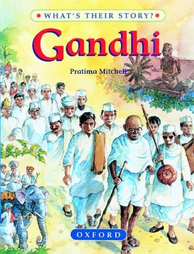 Gandhi By Pratima Mitchell