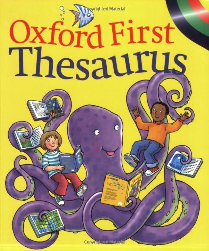 FIRST OXFORD THESAURUS By Andrew Delahunty