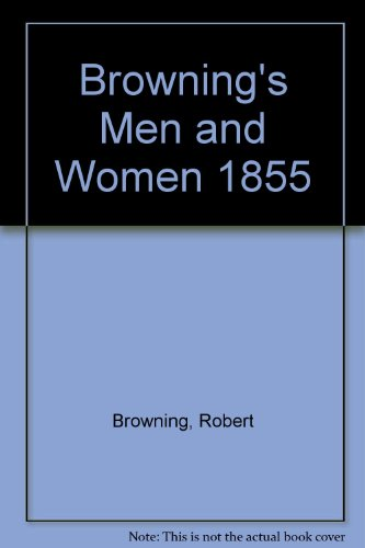 Men and Women By Robert Browning