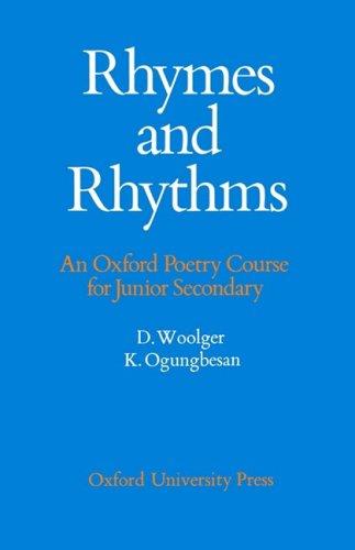 Rhymes and Rhythms By Edited by David Woolger