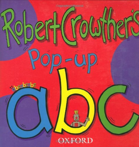 OXFORD POP UP ABC By Robert Crowther