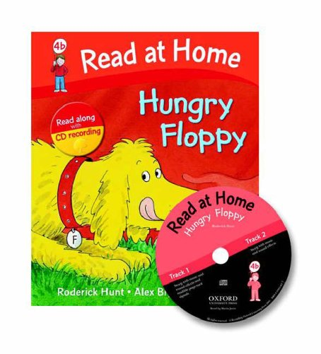 Read at Home: 4b: Hungry Floppy Book + CD von Roderick Hunt