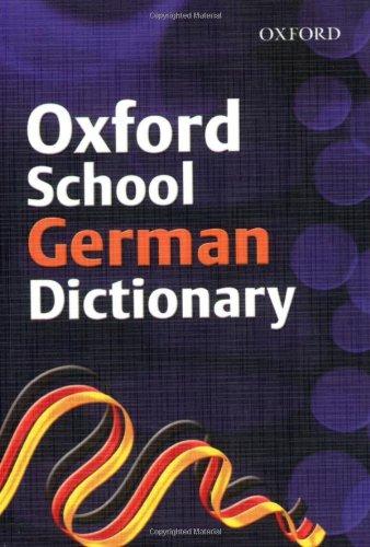 OXFORD GERMAN DICTIONARY By Nicholas Rollin